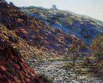 Клод Моне Старое дерево, ущелье в Пти-Крезе 1889г