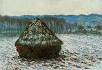 Клод Моне Стог сена 1891