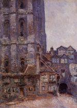 Клод Моне Кур д'Албань, пасмурная погода 1892г