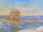 Клод Моне Ледоход близ Бенекура 1893г