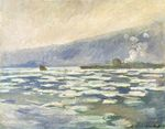 Клод Моне Лёд. Порт-Виле 1893г
