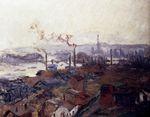 Клод Моне Общий вид на Руан 1892г