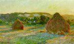 Клод Моне Пшеничные стога (Конец лета) 1891г