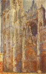 Клод Моне Руанский собор в полдень 1894г
