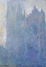 Клод Моне Руанский собор в тумане 1894г