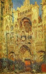 Клод Моне Руанский собор на закате 1894г