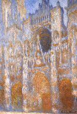 Клод Моне Руанский собор, главный вход в середине дня 1893г