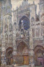Клод Моне Руанский собор, пасмурная погода 1894г