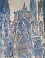 Клод Моне Руанский собор, этюд главного входа 1892г