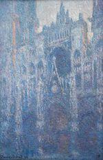 Клод Моне Руанский собор, ясный день 1894г