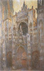 Клод Моне Руанский собор 1894г