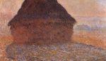 Клод Моне Стог сена под солнцем 1891г