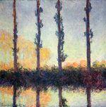 Клод Моне Тополя (Четыре дерева) 1891г