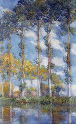 Клод Моне Тополя 1891г