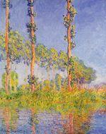 Клод Моне Три дерева осенью 1891г