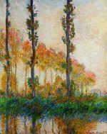 Клод Моне Три дерева, осень 1891г