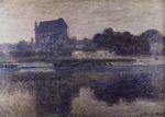 Клод Моне Церковь Вернона в тумане 1893г