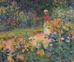 Клод Моне В саду 1895г
