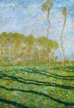 Клод Моне Весенний пейзаж в Живерни 1894г