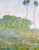 Клод Моне Весна. Луг в Живерни 1894г.