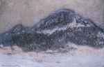 Клод Моне Гора Колсаас в туманную погоду 1895г