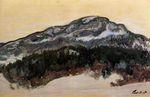 Клод Моне Гора Колсаас, Норвегия 1895г