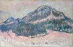 Клод Моне Гора Колсаас, розовое отражение 1895г.