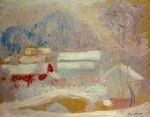 Клод Моне Норвежский пейзаж, Сандвикен 1895г