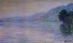 Клод Моне Сена в Порт-Вийе, синий эффект 1894г