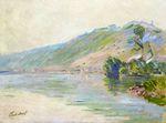 Клод Моне Сена в Порт-Вийе, ясная погода 1894г