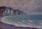 Клод Моне Скала в Пурвиле 1896г