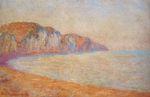 Клод Моне Скала в Пурвиле, утро 1897г