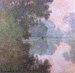 Клод Моне Утро на Сене близ Живерни 1896г