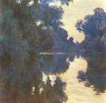 Клод Моне Утро на Сене 1896г