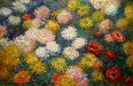 Клод Моне Хризантемы 1897г 120х80