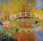 Клод Моне Японский мостик (Мостик в саду Моне) 1896г