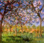 Клод Моне Жеверни весной 1900г