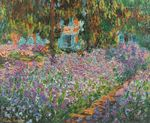 Клод Моне Ирисы в саду Моне 1900г