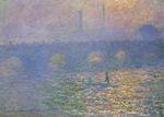 Клод Моне Мост Ватерлоо, Лондон 1900г