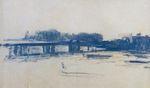 Клод Моне Мост Чаринг-Кросс (этюд) 1901г