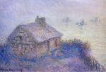 Клод Моне Таможня в Варанжвиле, туман 1897г 65x92cm.
