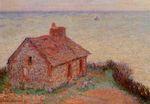 Клод Моне Таможня, розовый эффект 1897г 5x92cm Art Intisitute of Chicago, Chicago