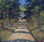 Клод Моне Тропинка в саду Моне, Живерни 1900г