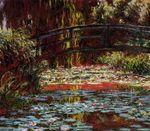 Клод Моне Японский мостик (Мостик над прудом с водяными лилиями) 1900г