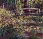 Клод Моне Японский мостик (Пруд с водяными лилиями, симфония в розовом) 1900г