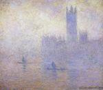 Клод Моне Вестминстерский дворец. Эффект тумана 1901г