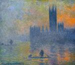 Клод Моне Вестминстерский дворец. Эффект тумана 1903г