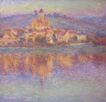 Клод Моне Ветёй на закате 1901г