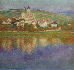 Клод Моне Ветёй, розовый эффект 1901г
