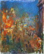 Клод Моне Лестер-сквер ночью 1901г